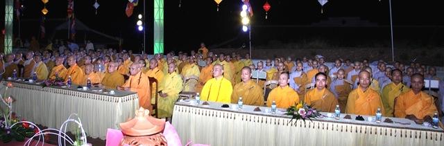 Học viện PGVN tại Huế tổ chức lễ Phật đản Pl.2562