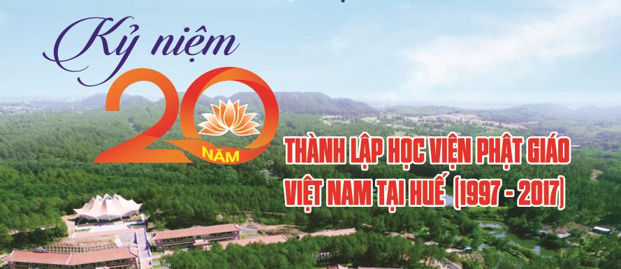 Thư mời tham dự lễ kỷ niệm 20 năm thành lập Học viện PGVN tại Huế