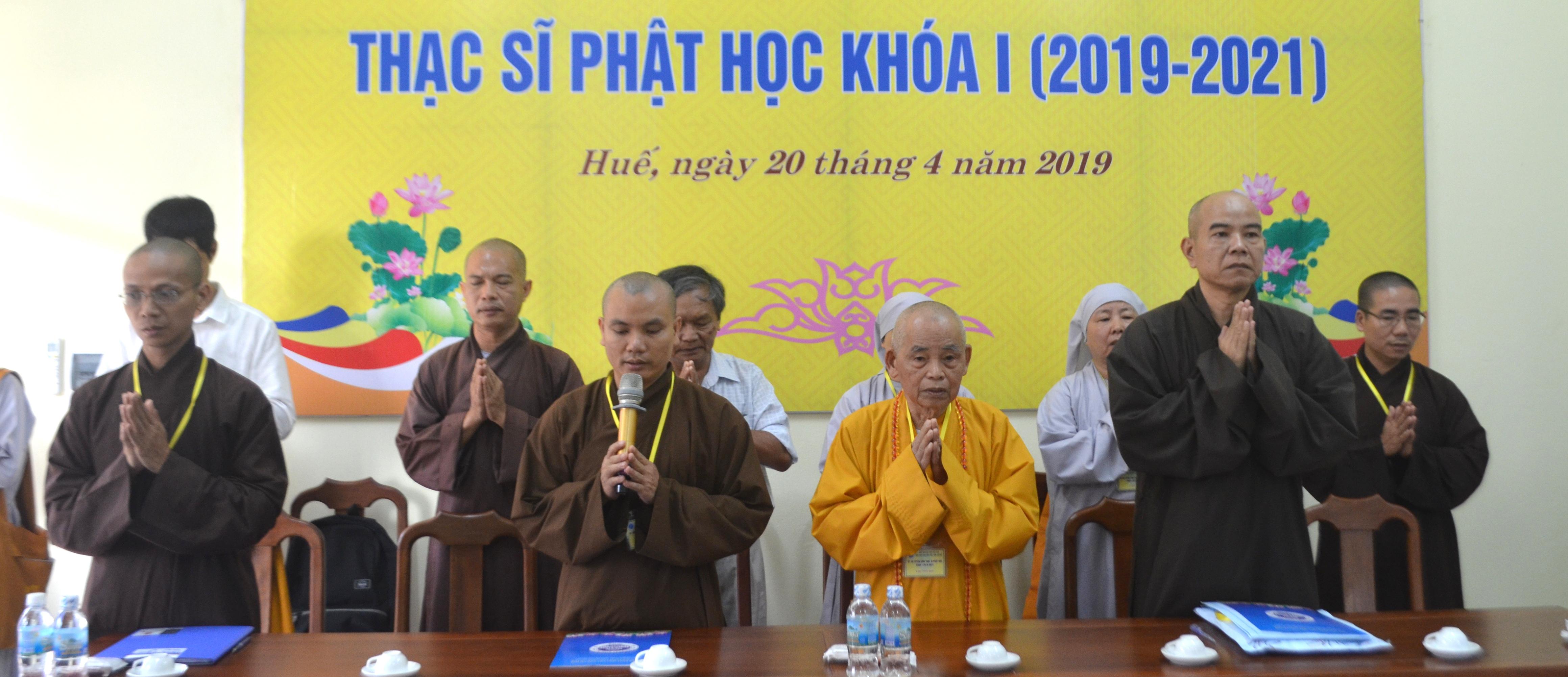 Học viện PGVN tại Huế tổ chức thi tuyển sinh Thạc sĩ Phật học khóa I
