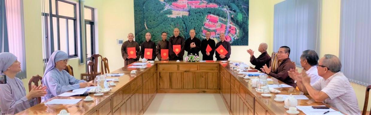 Tăng cường nhân sự lãnh đạo Học viện Phật giáo VN tại Huế