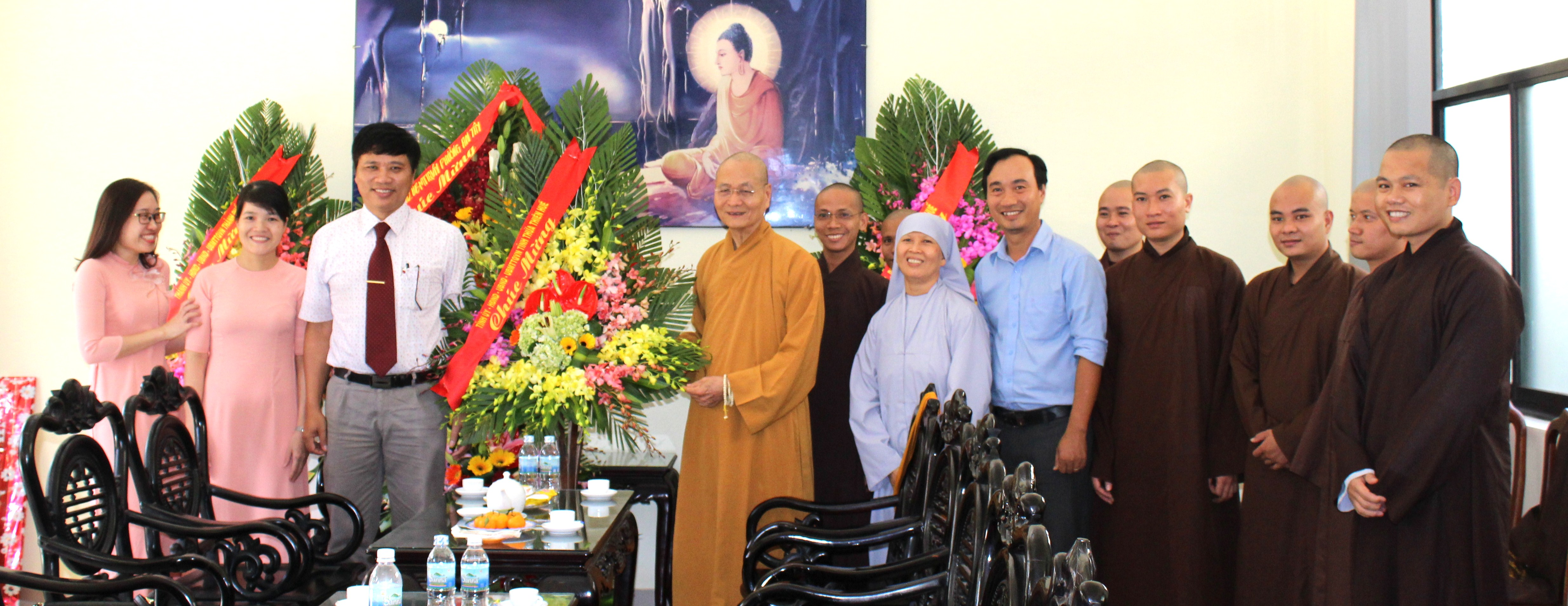 Lãnh đạo tỉnh, thành phố chúc mừng Học viện nhân Ngày Nhà giáo Việt Nam