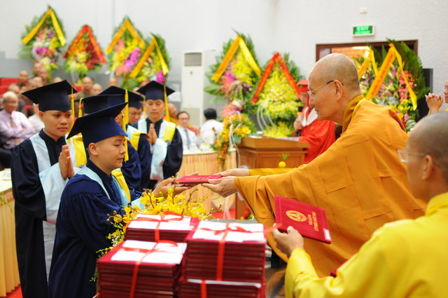 Lễ Tốt nghiệp Cử nhân Phật học khóa VIII và Khai giảng Thạc sĩ khóa I, Cử nhân khóa IX, X