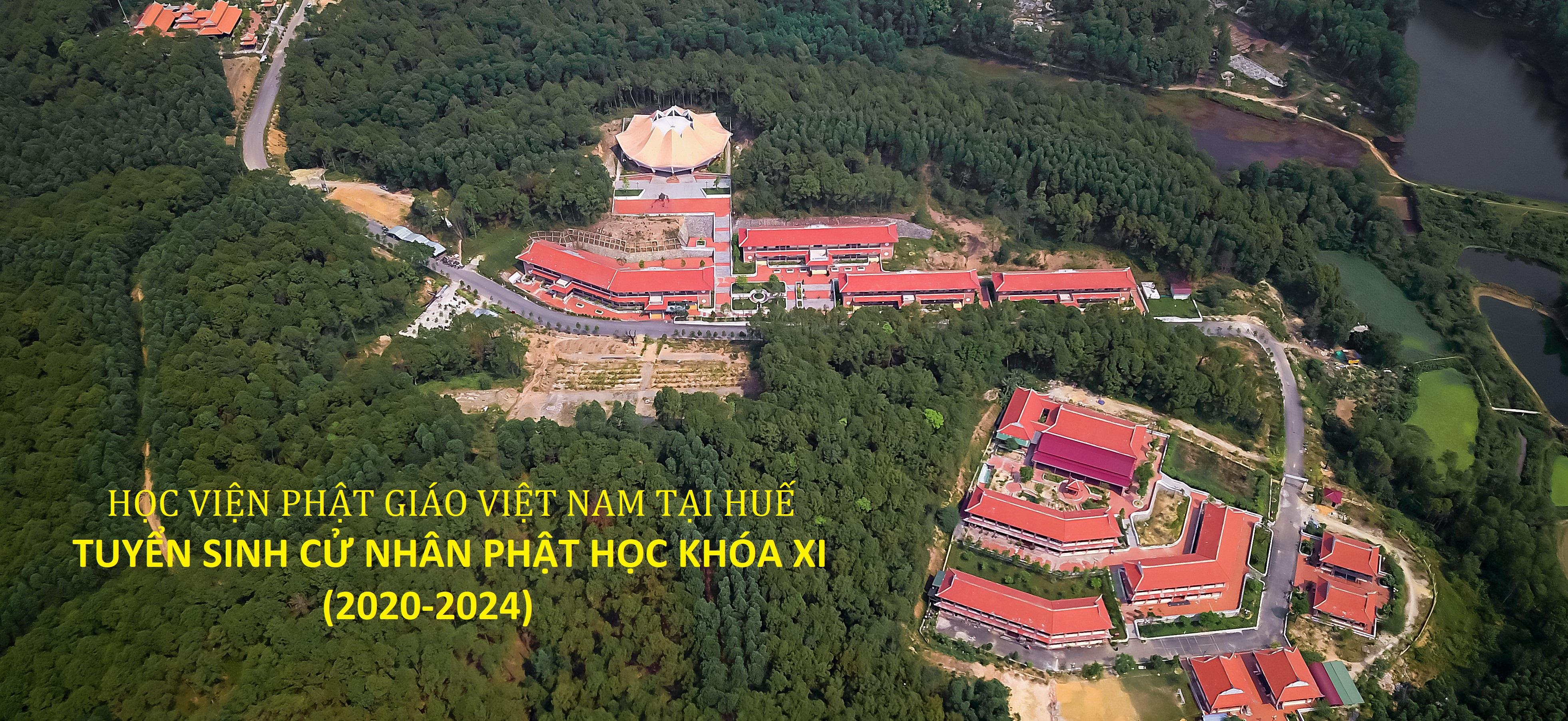 Học viện PGVN tại Huế thông báo tuyển sinh Cử nhân Phật học khóa XI