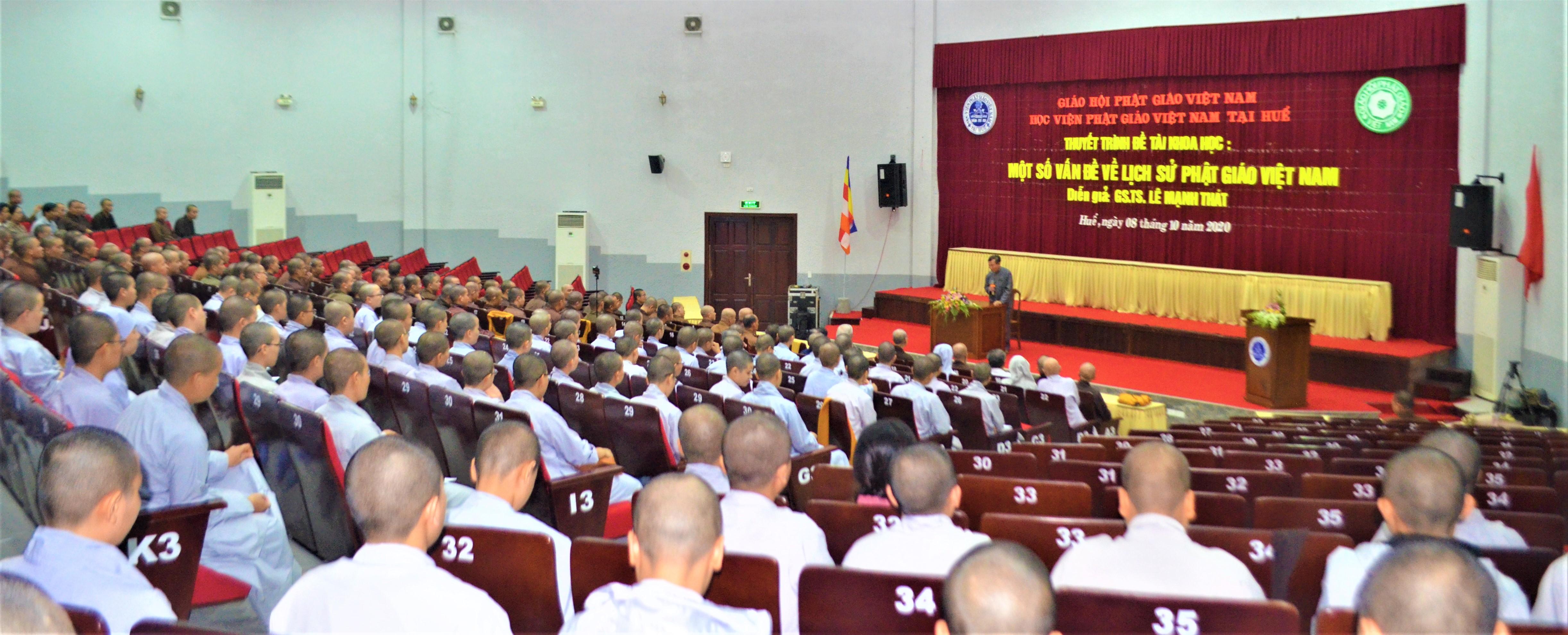 """Thuyết trình đề tài """"Một số vấn đề về lịch sử Phật giáo Việt Nam"""""""