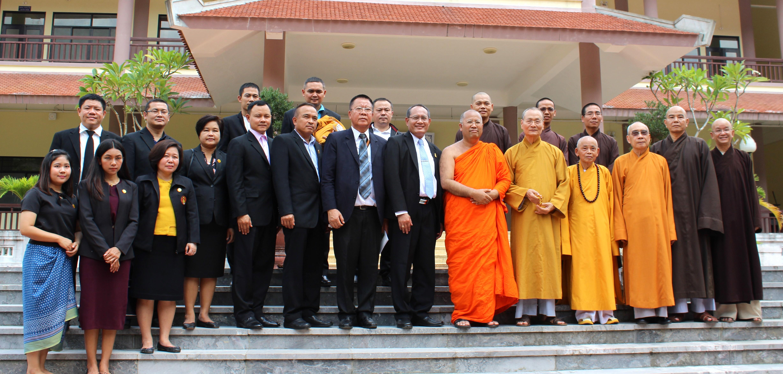 Học viện PGVN tại Huế và Viện Đại học Mahachulalongkornrajavidyalaya (Thailand) hợp tác